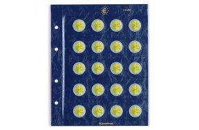 COIN SHEETS VISTA FOR 2-EURO COINS